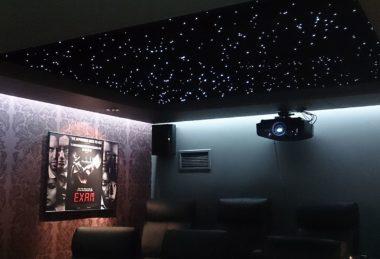 небо потолок звездное натяжной