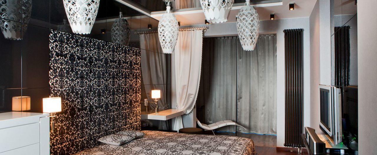 спальня глянец натяжной