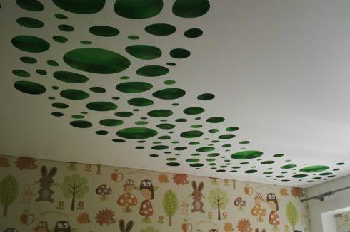 зеленый глянец apply белый