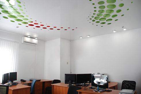 зеленый красный белый потолок apply