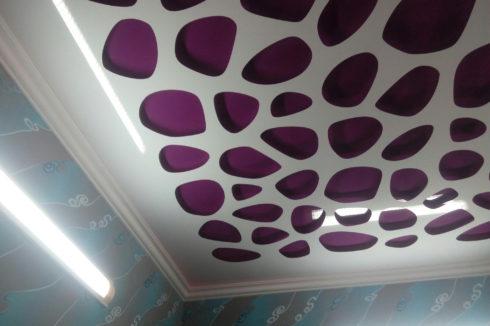 белый пурпурный глянец apply