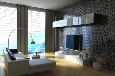комната с панорамой