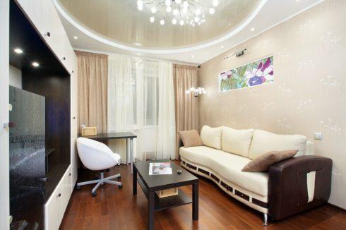 жемчужный потолок в комнате