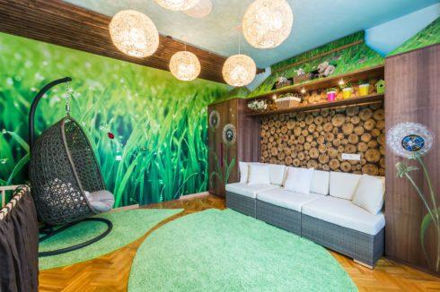 комната в природном стиле