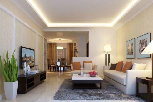 комната с подсветкой