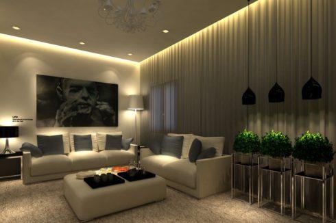 комната с картиной