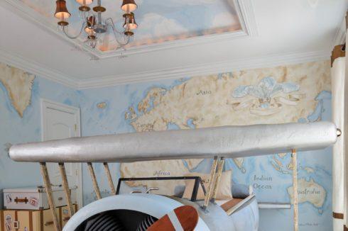Комната с авиационной тематикой