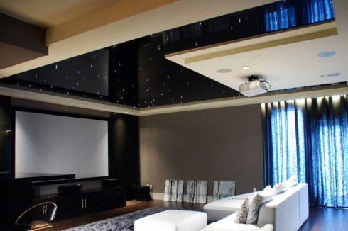 точечная подсветка в домашнем кинотеатре
