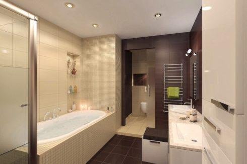 ванная в 3-х цветах